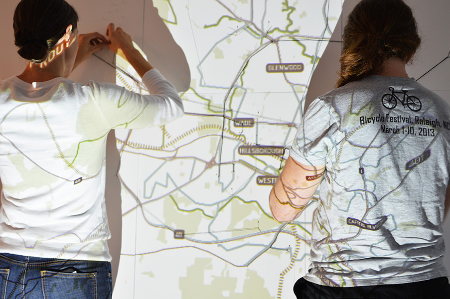 Participatory Mapping, AIA,  Map My Ride