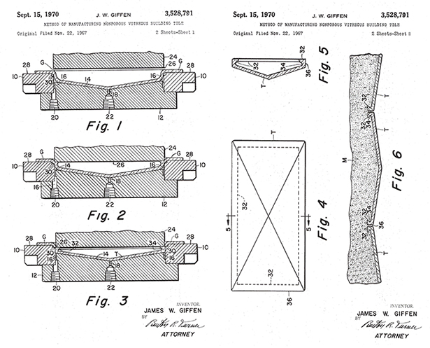 Pressed Glass-patent images